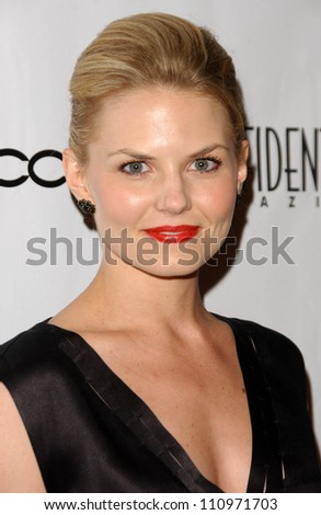 Jennifer Morrison at Los Angeles Confidential Magazine's Annual Emmy Party.  One Sunset, West Hollywood, CA. 09-11-07