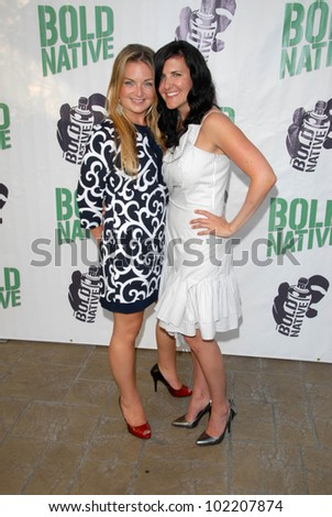 "Jennifer O'Neill and Mary Pat  at the premiere of ""Bold Native,"" Majestic Crest Theater, Westwood, CA. 06-16-10"