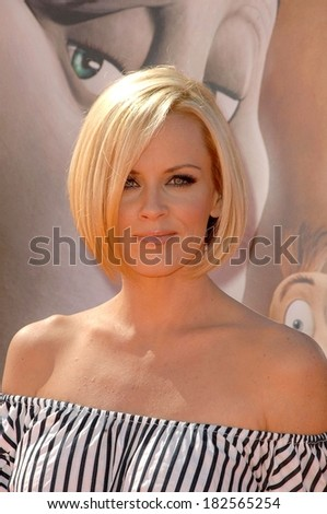 Jenny McCarthy at Los Angeles Premiere of HORTON HEARS A WHO!, Mann Village Theatre in Westwood, Los Angeles, CA, March 08, 2008 - stock photo