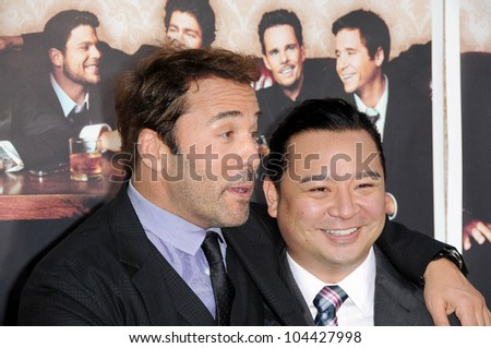 Jeremy Piven and Rex Lee at the Los Angeles Premiere of 'Entourage' Season Six. Paramount Theater, Hollywood, CA. 07-09-09