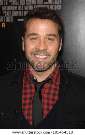 Jeremy Piven at THE FIGHTER Premiere, Grauman's Chinese Theatre, Los Angeles, CA December 6, 2010