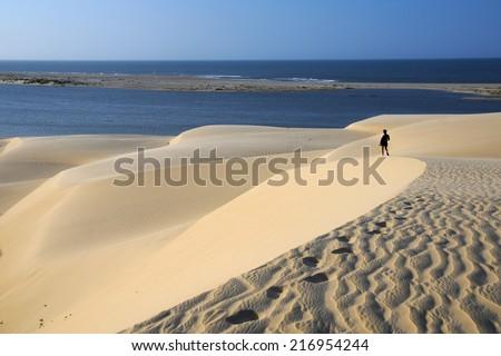 Jericoacoara beach, Brazil - stock photo