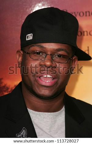 "Jermaine Williams at the world premiere of ""Stomp The Yard"". The Cinerama Dome, Hollywood, CA. 01-08-07"