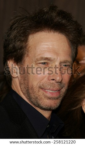 "Jerry Bruckheimer attends The Walt Disney and Jerry Bruckheimer Pictures World Premiere of ""Glory Road"" held at The Pantages Theater in Hollywood, California on January 5, 2006."