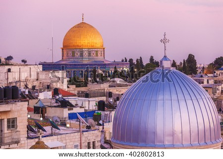 Jerusalem Old City and Temple Mount, Israel