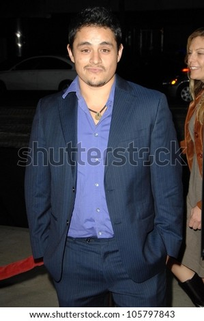 Jesse Garcia at the Los Angles Premiere of 'American Identity'. Samuel Goldwyn Theatre, Beverly Hills, CA. 03-25-09