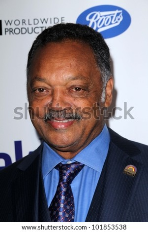 Jesse Jackson at the Official Launch of BritWeek, Private Location, Los Angeles, CA 04-24-12 - stock photo