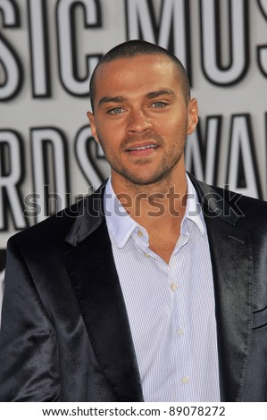 Jesse Williams at the 2010 MTV Video Music Awards at the Nokia Theatre L.A. Live in downtown Los Angeles. September 12, 2010  Los Angeles, CA Picture: Paul Smith / Featureflash