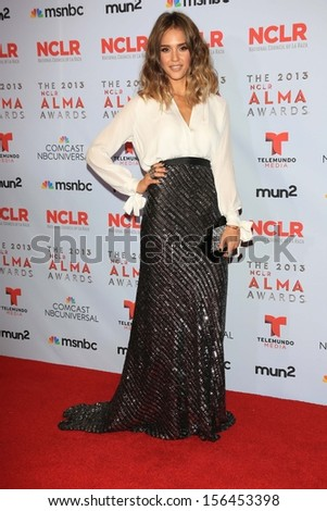 Jessica Alba at the 2013 NCLR ALMA Awards Press Room, Pasadena Civic Auditorium, Pasadena, CA 09-27-13