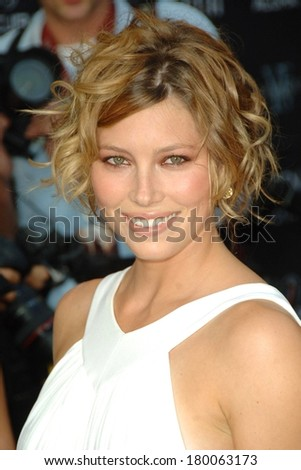 Jessica Biel at Premiere of THE ILLUSIONIST, Chelsea West Cinemas, New York, NY, August 15, 2006