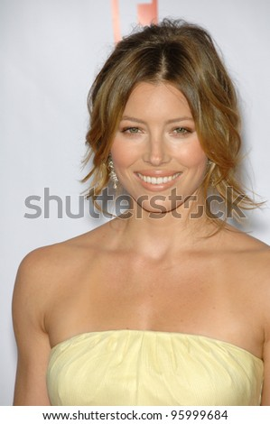 JESSICA BIEL at the 12th Annual Critics' Choice Awards at the Santa Monica Civic Auditorium. January 12, 2007  Los Angeles, CA Picture: Paul Smith / Featureflash