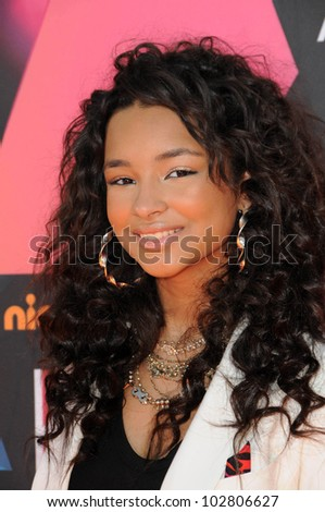 Jessica Jarrell at the Nickelodeon's 23rd Annual Kids' Choice Awards, UCLA's Pauley Pavilion, Westwood, CA 03-27-10