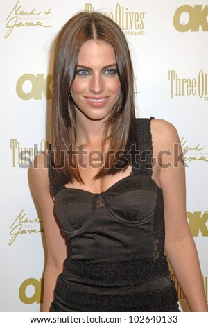 Jessica Lowndes at the OK Magazine Pre-Oscar Party, Beso, Hollywood, CA. 03-05-10