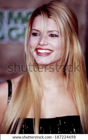 Jessica Simpson at the Billboard Music Awards in Las Vegas, Circa December, 1999 - stock photo
