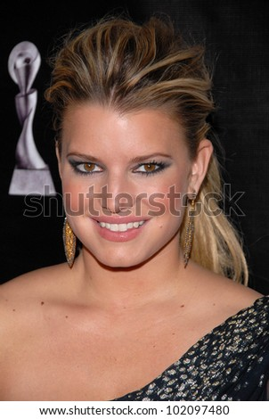 Jessica Simpson at the 35th Annual Gracie Awards Gala, Beverly Hilton, Beverly Hills, CA. 05-25-10 - stock photo