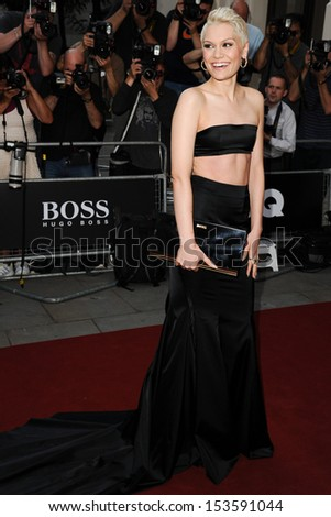 Jessie J arriving for the 2013 GQ Men Of The Year Awards, at the Royal Opera House, London. 03/09/2013