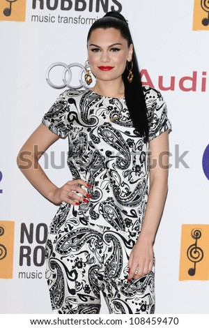 Jessie J arriving for the Nordoff Robbins Silver Clef Awards 2012, London. 29/06/2012 Picture by: Steve Vas / Featureflash - stock photo