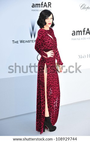 Jessie J at the 2012 amfAR Cinema Against AIDS Gala at the Hotel du Cap, Antibes. May 24, 2012  Antibes, France Picture: Paul Smith / Featureflash - stock photo