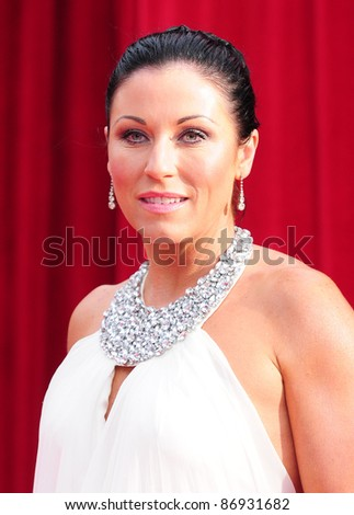 Jessie Wallace arrives for the 2011 Soap Awards held at Granada Studios in Manchester. 14/05/2011. Picture by Simon Burchell/Featureflash - stock photo
