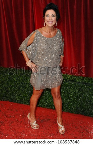 Jessie Wallace arriving for the British Soap Awards 2012 at London TV Centre, South Bank, London. 28/04/2012 Picture by: Steve Vas / Featureflash - stock photo