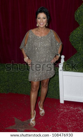 Jessie Wallace arriving for the 2012 British Soap Awards , LWT Southbank, London. 28/04/2012 Picture by: Simon Burchell / Featureflash - stock photo