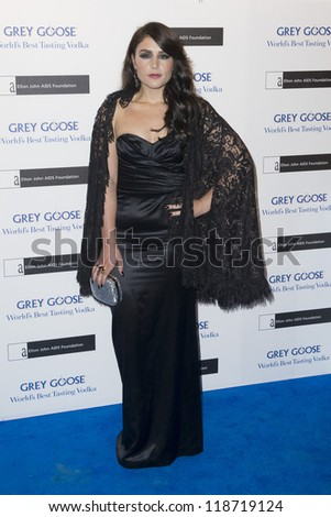 Jessie Ware arriving for the Grey Goose Ball 2012, Battersea Power Station, London. 10/11/2012 Picture by: Simon Burchell - stock photo
