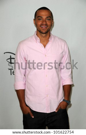 Jessie Williams at the Disney ABC Television Group Summer 2010 Press Tour, Beverly Hilton Hotel, Beverly Hills, CA. 08-01-10 - stock photo