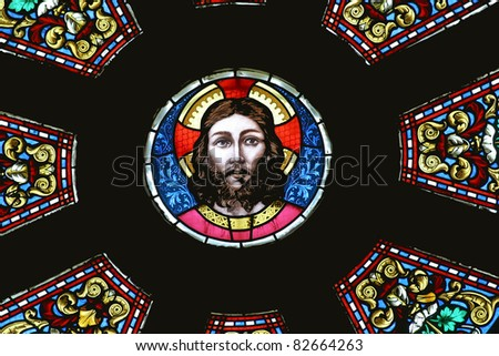 Jesus, Basilica Holy Virgin Mary, Marija Bistrica, Croatia - stock photo