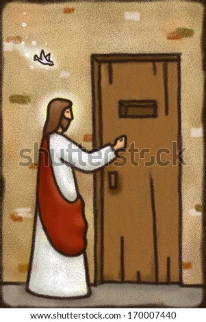 Jesus Knocking Stock Images Royalty Free Images Amp Vectors