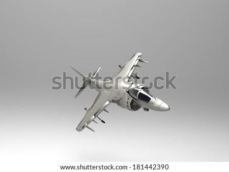 Jet aircraft - stock photo