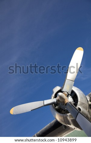 jet propeller - stock photo
