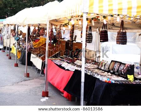 Jewel market place, outdoors, in Helsinki Finland - stock photo