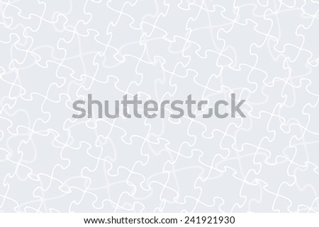 Jigsaw pattern for backgrounds, backdrops and fills - stock photo