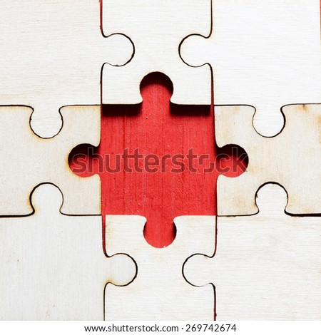 Jigsaw puzzle background.Jigsaw puzzle background with puzzle pieces. - stock photo