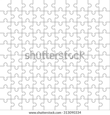 white jigsaw puzzle stock photo 549499552 shutterstock. Black Bedroom Furniture Sets. Home Design Ideas