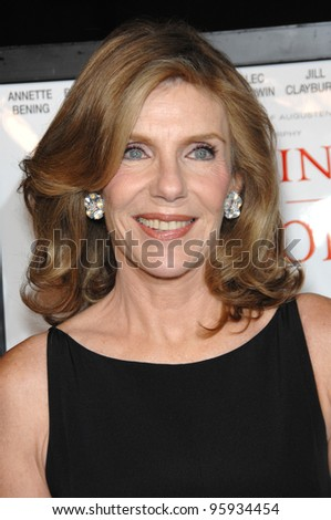 "JILL CLAYBURGH at the world premiere of her new movie ""Running with Scissors"". October 10, 2006  Los Angeles, CA Picture: Paul Smith / Featureflash"