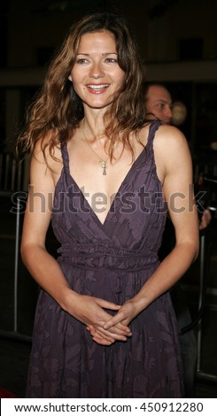 Jill Hennessy at the Los Angeles premiere of 'Shooter' held at the Mann Village Theatre in Westwood, USA on March 8, 2007.