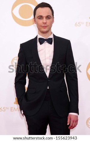 Jim Parsons at the 65th Annual Primetime Emmy Awards Arrivals, Nokia Theater, Los Angeles, CA 09-22-13
