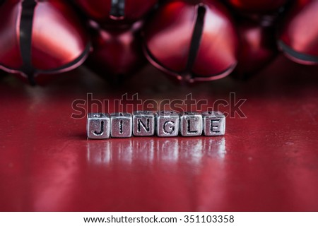 Jingle spelled with bells