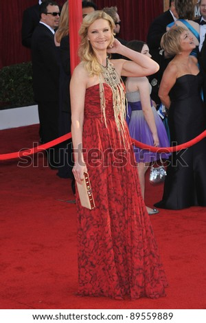 Joan Allen at the 16th Annual Screen Actors Guild Awards at the Shrine Auditorium. January 23, 2010  Los Angeles, CA Picture: Paul Smith / Featureflash
