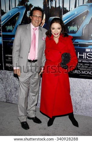 "Joan Collins at the Los Angeles Premiere of ""His Way"" held at the Paramount Pictures Studios in Los Angeles, California, United States on March 22, 2011."