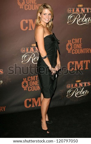 Joanna Garcia at the CMT Giants honoring Reba McEntire. Kodak Theatre, Hollywood, CA. 10-26-06