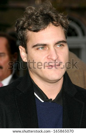 Joaquin Phoenix at Hamptons International Film Festival WALK THE LINE Screening, United Artists Theatres, East Hampton, NY, October 23, 2005