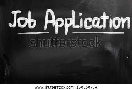 Job Application Concept - stock photo
