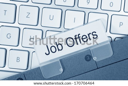 Job Offers - stock photo