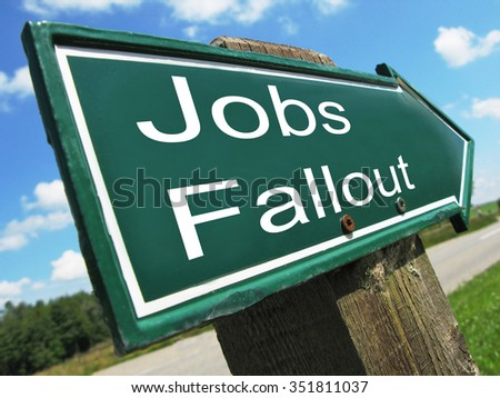 Jobs Fallout road sign