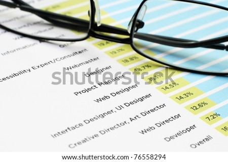 Jobs - professions - stock photo
