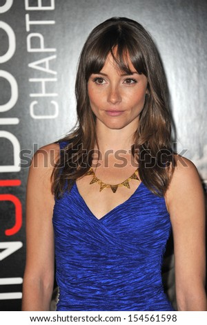 "Jocelin Donahue at the world premiere of her movie ""Insidious Chapter 2"" at Universal Citywalk, Hollywood. September 10, 2013  Los Angeles, CA"