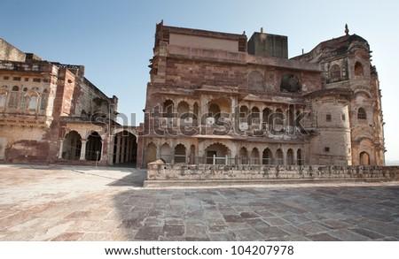 Jodhpur (blue city) Rajasthan, India - stock photo