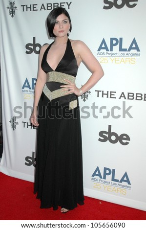 Jodi Lyn O'keefe at the APLA 'The Envelope Please' Oscar Viewing Party. The Abbey, West Hollywood, CA 02-22-09